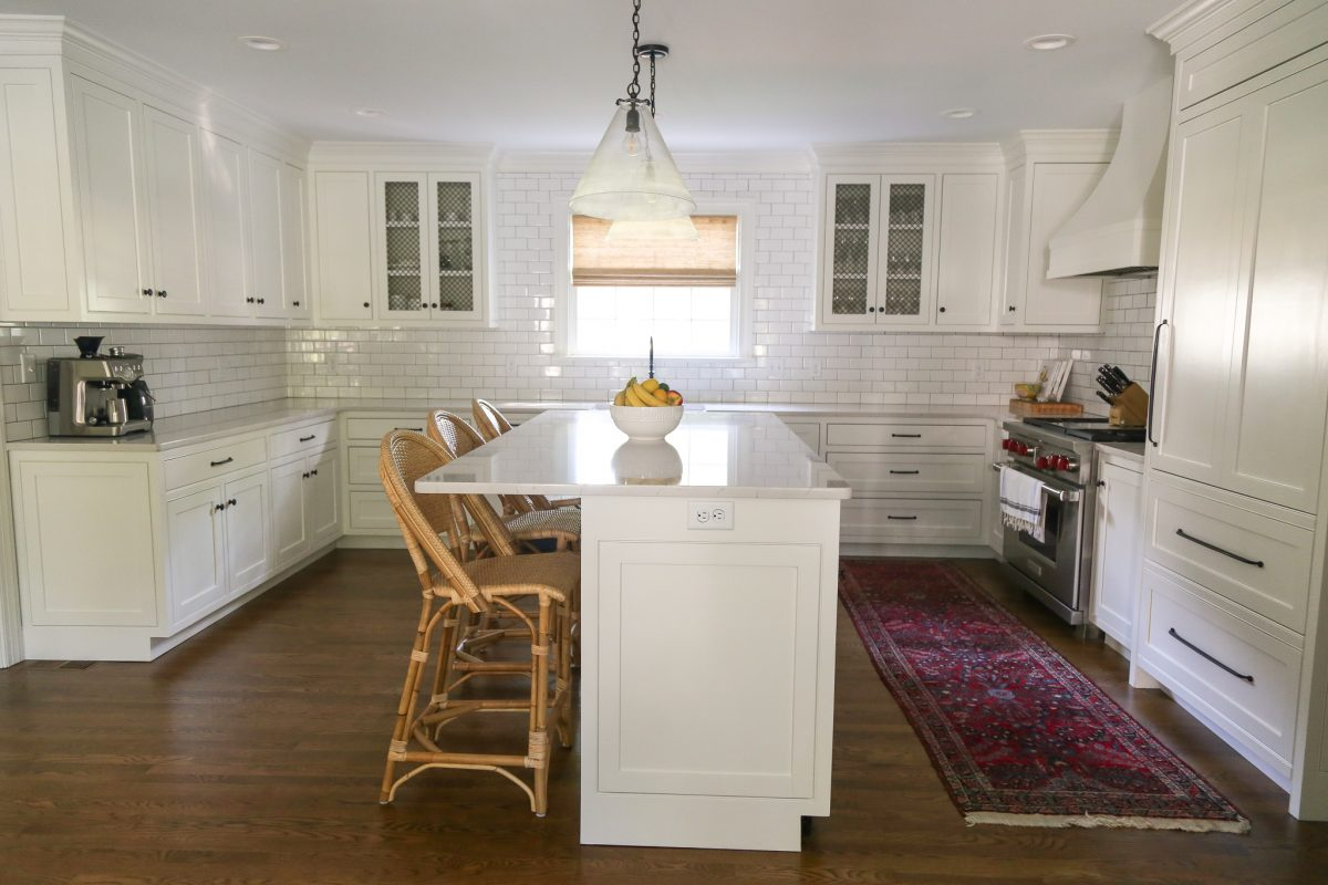 Our All-White Kitchen Reveal – Before & After