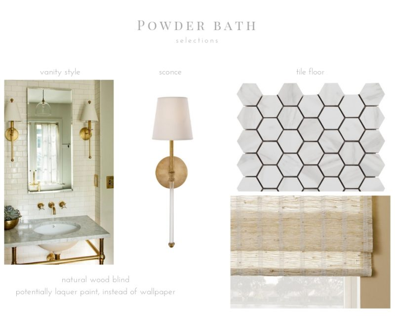 Our Powder Room Reveal + Before & Afters